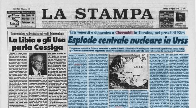 Oggi, 26 aprile, ricorre il 25° anniversario dell'incidente nucleare di Cernobyl
