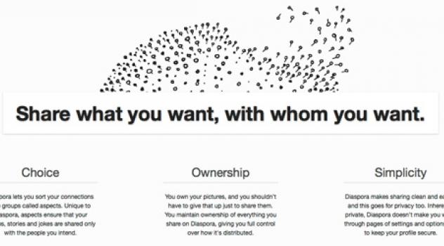 Diaspora, il social network anti Facebook, è rimasto senza soldi