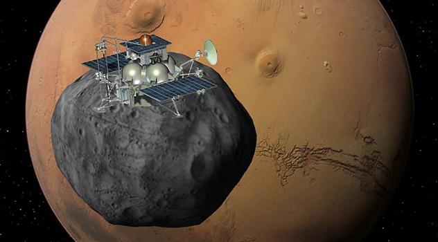 Phobos-Grunt, parte la missione russa verso Marte